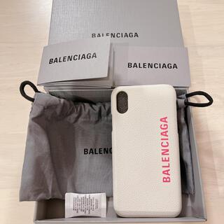 バレンシアガ(Balenciaga)のBALENCIAGA  iPhoneXSケース(iPhoneケース)