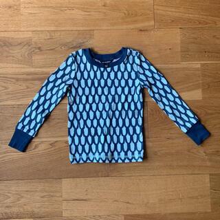 マリメッコ(marimekko)のmarimekko マリメッコ スオム ウロコ カットソー 98 3y(Tシャツ/カットソー)