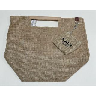カルディ(KALDI)のKALDI ジュート素材バッグ < オフホワイト > カルディ 2021 夏(その他)