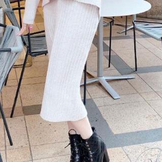 レディー(Rady)のRadyニットスカート新品(ロングスカート)