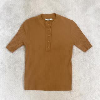 マンゴ(MANGO)のトップス(Tシャツ(半袖/袖なし))