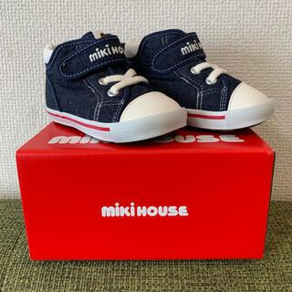 mikihouse - 新品未使用タグ付き ミキハウスmikihouse シューズ 靴 14cm
