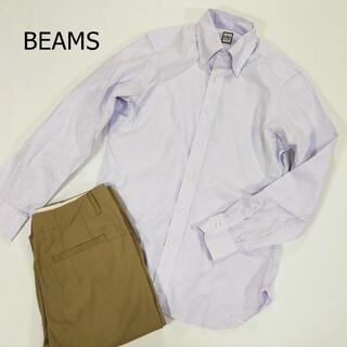 コドモビームス(こども ビームス)のビームス シャツ サイズ39 M パープル 紫 長袖 日本製 シンプル(シャツ/ブラウス(長袖/七分))