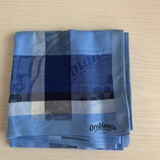 オロビアンコ(Orobianco)のオロビアンコ ハンカチ メンズ 新品未使用(ハンカチ/ポケットチーフ)