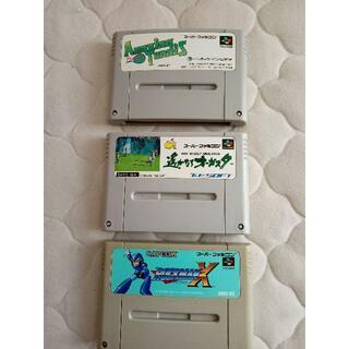任天堂 - スーパーファミコン用ソフト 3個セット