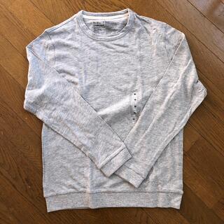 ムジルシリョウヒン(MUJI (無印良品))の長袖Tシャツ グレー(Tシャツ/カットソー(七分/長袖))