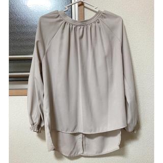 ショコラフィネローブ(chocol raffine robe)のブラウス ベージュ(シャツ/ブラウス(長袖/七分))