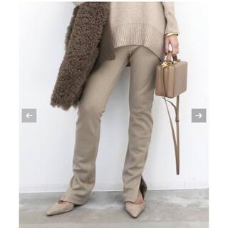 アパルトモンドゥーズィエムクラス(L'Appartement DEUXIEME CLASSE)の【専用】L'Appartement Wool Zip Leggings(レギンス/スパッツ)