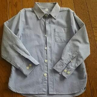 ムジルシリョウヒン(MUJI (無印良品))の無印 ボタンダウンシャツ120(ブラウス)