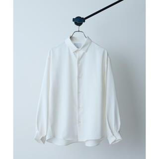 ラッドミュージシャン(LAD MUSICIAN)の【21AW】Lui's NEWパウダー袖ボリュームシャツ white(シャツ)
