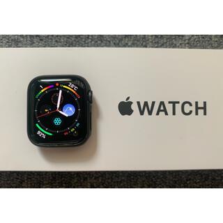 Apple Watch - Apple Watch SE GPS グレー 40mm ほぼ未使用  カバー付