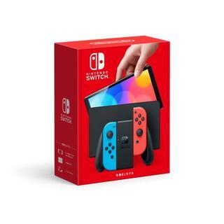 ニンテンドースイッチ(Nintendo Switch)の【送料込】任天堂 Nintendo Switch(有機ELモデル)スイッチ本体 (家庭用ゲーム機本体)