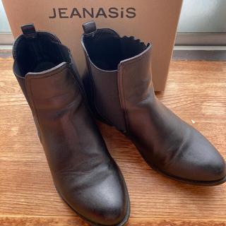 ジーナシス(JEANASIS)の10月限定出品JEANASIS サイドゴアブーツ ショートブーツ フラットブーツ(ブーツ)