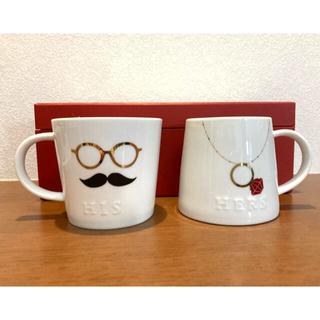 アフタヌーンティー(AfternoonTea)のアフタヌーンティー ペアマグカップ(グラス/カップ)