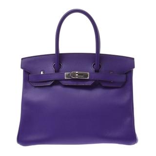 エルメス(Hermes)のエルメス バーキン 30 ハンドバッグ クロッカス(紫)(ハンドバッグ)