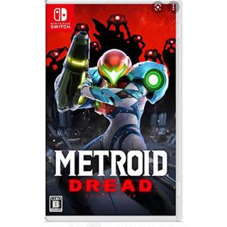 ニンテンドースイッチ(Nintendo Switch)のメトロイド ドレッド Switchソフト  新品未開封(家庭用ゲームソフト)