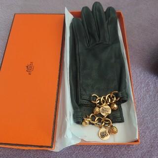 エルメス(Hermes)のヴィンテージ レアHermes エルメス皮革 グローブ(手袋)