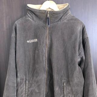 コロンビア(Columbia)のコロンビア  ワークジャケット コーデュロイ 裏起毛 茶色 Lサイズ(その他)