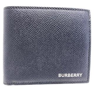 BURBERRY - バーバリー BURBERRY メンズ財布 2つ折り 80146581 ネイビー