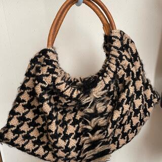 ツモリチサト(TSUMORI CHISATO)のツモリチサト バッグ 毛糸(トートバッグ)