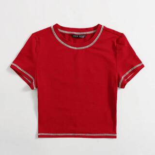エイチアンドエム(H&M)のSHEIN トップス(Tシャツ(半袖/袖なし))