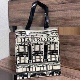 Harrods - 新品☆HARRODS☆ハロッズトートバッグ☆Sサイズ☆人気柄デパート