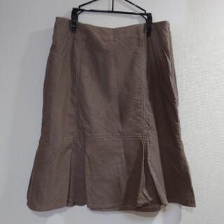 ローラアシュレイ(LAURA ASHLEY)の新品Laura Ashley膝下コーデュロイスカート(ひざ丈スカート)