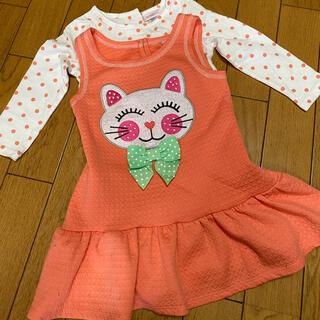 ジンボリー(GYMBOREE)の海外子供服 youngland ワンピース&トップスセット 2T(ワンピース)