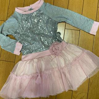 ジンボリー(GYMBOREE)の海外子供服 youngland ドッキングワンピース 24M(ワンピース)