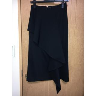 ルシェルブルー(LE CIEL BLEU)のルシェルブルー フリル付タイトスカート(ひざ丈スカート)