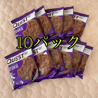 コストコ(コストコ)のクエスト プロテインクッキー ダブルチョコレートチップ(プロテイン)