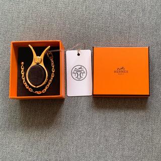 エルメス(Hermes)の【新品】Hermès エルメスグローブホルダー ゴールド(手袋)