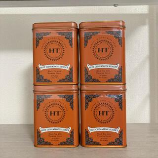 ディーンアンドデルーカ(DEAN & DELUCA)のハーニーアンドサンズ ホットシナモンサンセット HARNEY&SONS 紅茶缶 (茶)