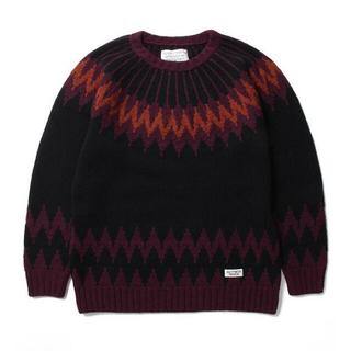WACKO MARIA - WACKO MARIA NORDIC SWEATER ノルディックセーター