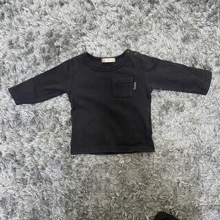フタフタ(futafuta)の【ベビー/キッズ服】futafuta Tシャツ 長袖 黒(Tシャツ)
