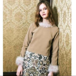 リリーブラウン(Lily Brown)のLily Brown リリーブラウン ジャガード台形スカート(ミニスカート)