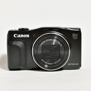Canon - デジカメ CANON PowerShot SX700 HS ブラック