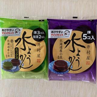 イムラヤ(井村屋)の井村屋 水ようかん 水羊羹 煉 抹茶(菓子/デザート)