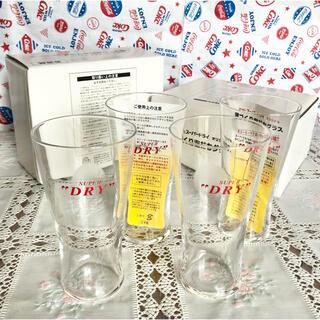 アサヒ(アサヒ)の非売品 アサヒ スーパードライ 薄づくり泡だちグラス 4個セット(グラス/カップ)