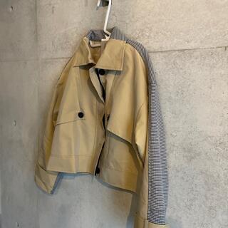 ミッシェルクラン(MICHEL KLEIN)の韓国ブランド ジャケット(ミリタリージャケット)