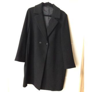 ユニクロ(UNIQLO)のユニクロ  コート  黒  XL(チェスターコート)