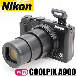 Nikon - 美品 ニコン Nikon COOLPIX A900 クールピクス Wi-Fi搭載