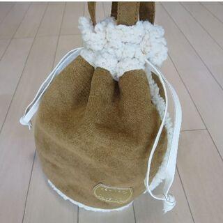 ツモリチサト(TSUMORI CHISATO)の【未使用】ツモリチサト ムートン調 トートバッグ(トートバッグ)