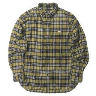 サイ(Scye)のSCYE BASICS コットンビエラチェックB.Dシャツ 40 メンズ(シャツ)