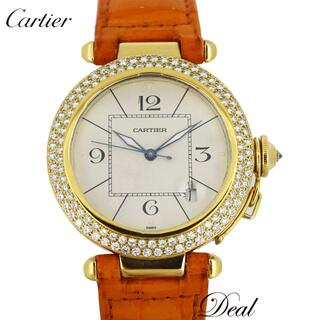 カルティエ(Cartier)のYG製 カルティエ パシャ38 グリッド メンズ 腕時計(腕時計(アナログ))