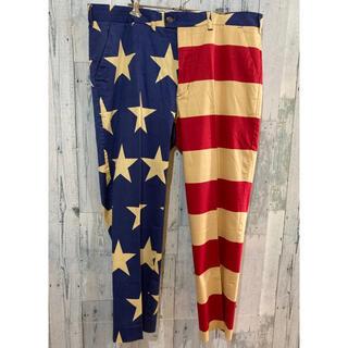 ラウドマウス(Loudmouth)のloudmouth星条旗 スター&ストライプパンツ ビッグサイズ40インチ(スラックス)