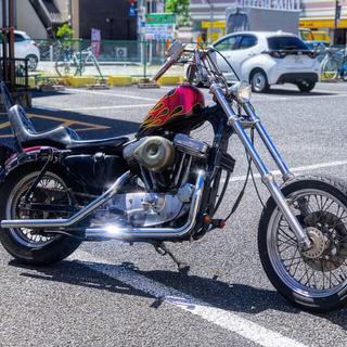 Harley Davidson - ハーレー スポーツスター883 チョッパー