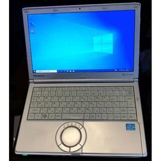 パナソニック(Panasonic)のPanasonic Let's noteCF-SX1GETDR SSDモデル(ノートPC)