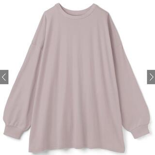 グレイル(GRL)のUSAコットンビッグシルエットロンT[ze401](Tシャツ/カットソー(七分/長袖))