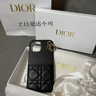 Christian Dior - DIOR ディオール iPhone 12 Pro Max ケース ブラック 新品